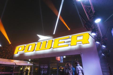 Från invigningen av en ny butik i Danmark
