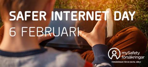mySafety Försäkringar bjuder in till seminarium och prisutdelning under Safer Internet Day