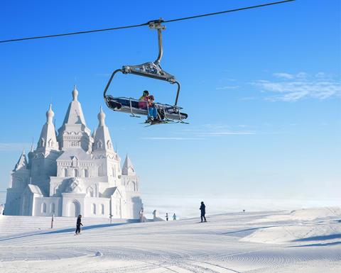 SkiStar bygger världsunik lodge bestående helt av snö: SkiStar Snow Lodge