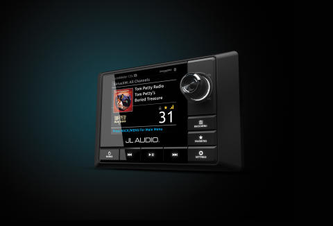 JL Audio Marine Europe: JL Audio Upgrades its Marine Source Unit for Sleeker Helm Integration