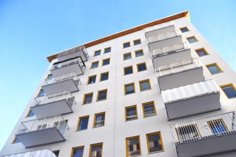 Nya bostadshus i Valsta