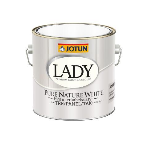 LADY Pure Nature White 2.7 ltr PNG hvit bakgrunn høyoppløslig