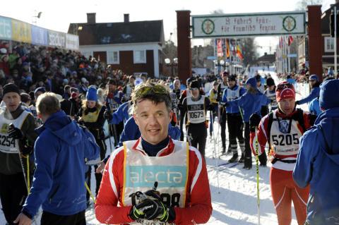 H.K.H. Kronprins Frederik åker Vasaloppet 2013