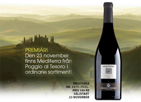 Mediterra - Från superdistriktet Bolgheri i Toscana
