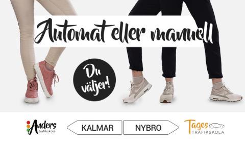 Anders Trafikskola i Kalmar och Tages Trafikskola i Nybro = sant