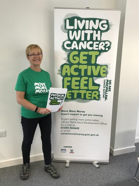 Free exercise and therapeutic gardening sessions for those affected by cancer in Moray