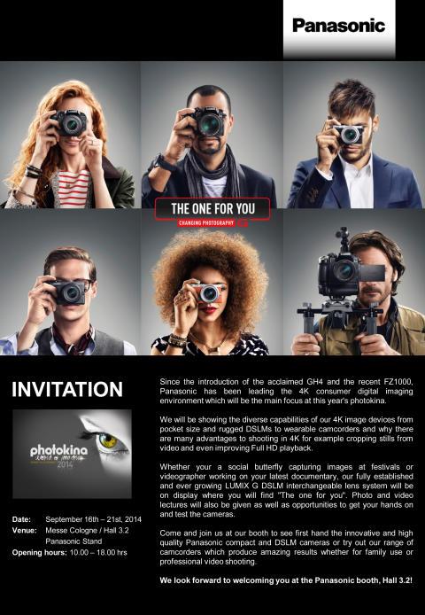 Panasonic at Photokina 2014
