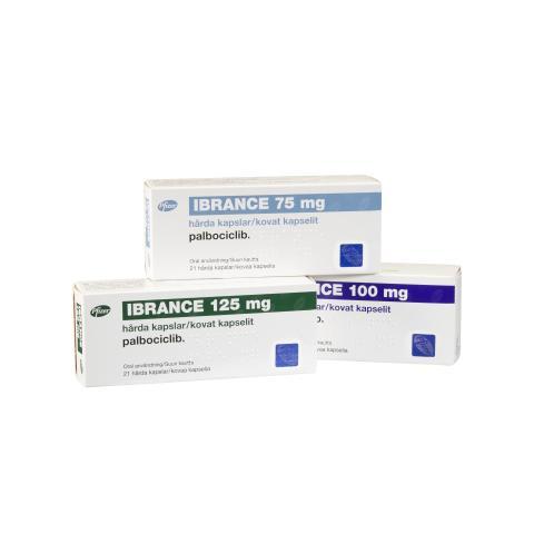 IBRANCE 75 mg, 100 mg och 125 mg