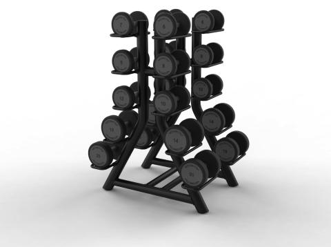 Hantelställ Technogym Vertical Dumbell Rack