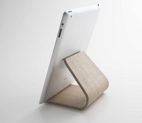 Uppvakta pappa med fyndig present - iPadställ