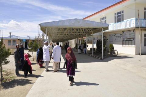 Femårig pojke dödad av raket på Svenska Afghanistankommitténs sjukhus i Wardak
