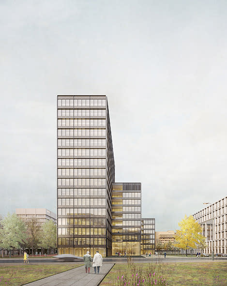HANSAINVEST Real Assets GmbH: Büroneubau in Hamburger City Nord geplant