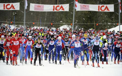SVT Sport direktsänder TjejVasan 2012