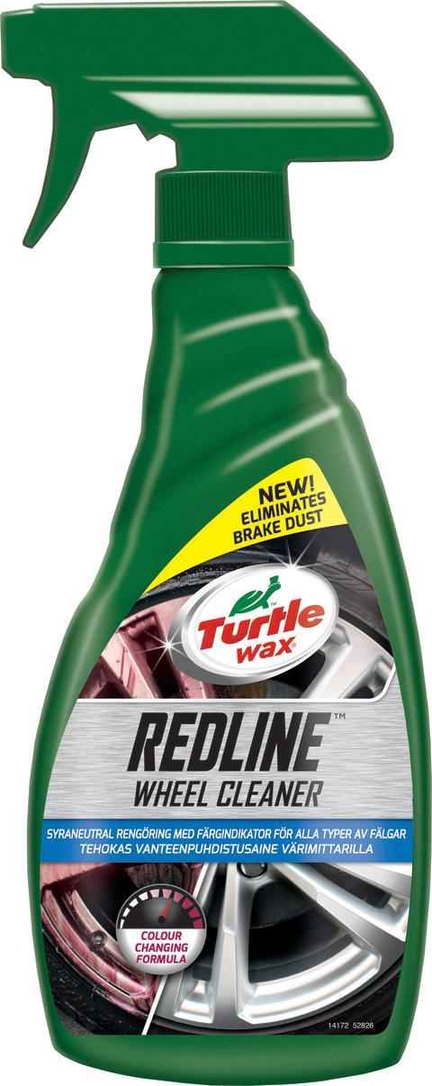 Nästa generation fälgrengöring från Turtle Wax – Redline Wheel Cleaner