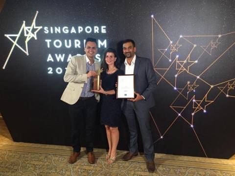 EmTech Singapore 2015 won at Singapore Tourism Awards 2016