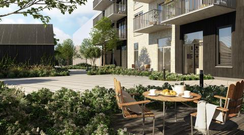 Försäljningsrekord för Slättös projekt Futura på Brunnshög