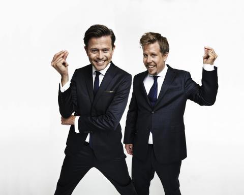 Familjen Wahlgren och Filip & Fredrik flerfaldigt Kristallennominerade