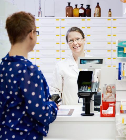 Apotek återinför praktik på apotek för servicekontoret