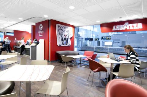 Lavazza och SSP öppnar det första nordiska Lavazza Espression-caféet på Stockholm Arlanda Airport