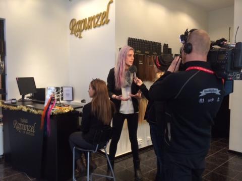 Rapunzel of Sweden för Musikhjälpen