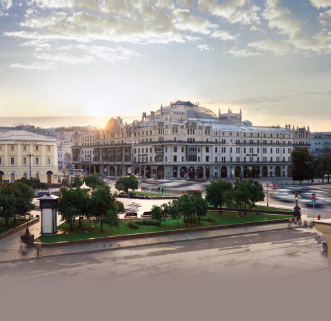 RUSSISCHE KULTUR IM DOPPELPACK: MOSKAU UND SANKT PETERSBURG