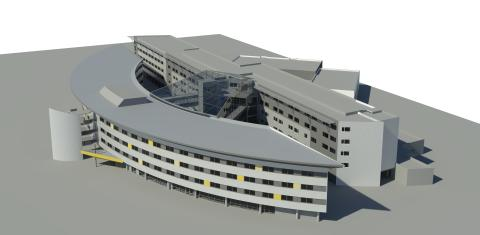 Utbygging av Qaulity Airport Hotel Gardermoen i 2017.