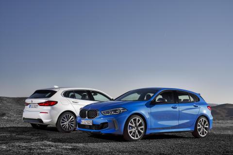 Den nye BMW 1-serie: Kompakt køreglæde