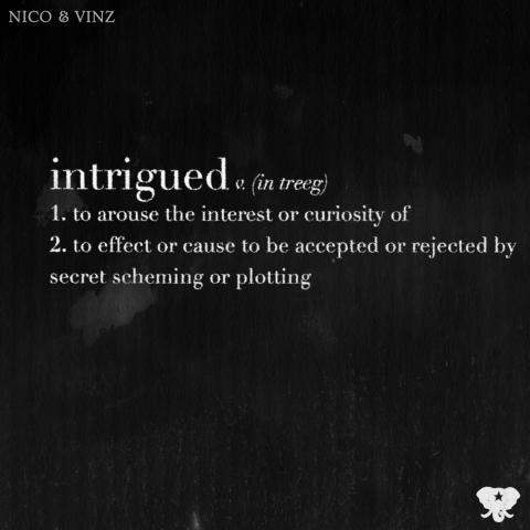 Nico & Vinz - Intrigued cover art