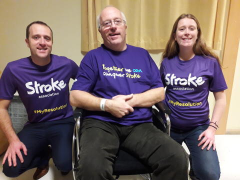​Walsall woman takes on Resolution Run for the Stroke Association for her father