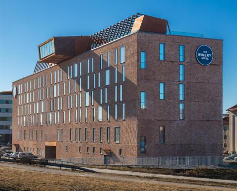 Nu öppnar Sveriges första urban winery hotel – The Winery Hotel