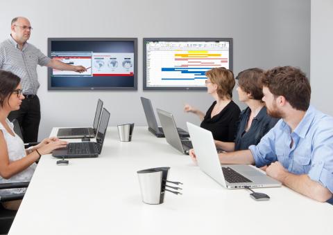 Enklere møtehverdag med trådløse møterom