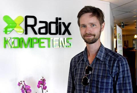 Riksdagsledamot för Miljöpartiet besökte Radix Kompetens