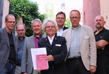 Kyrkoledare lanserade manifest i Almedalen om humanare migrationspolitik