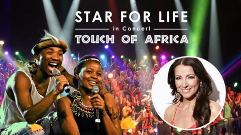 Sångare från 18 (!) lokala körer deltar i Star for Life-konsert i Lindesberg