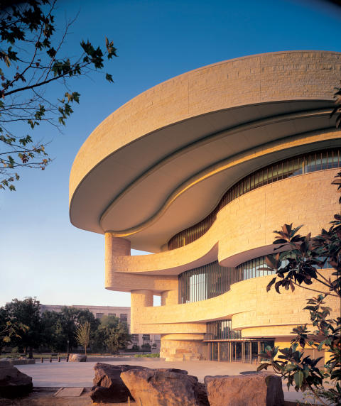 National Museum of the American Indian in Washington _ Provided by Douglas Cardinal Architect Inc