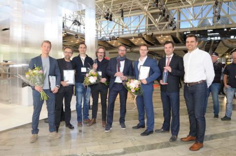 Glaspriset 2018 till skimrande kontorshus i Umeå