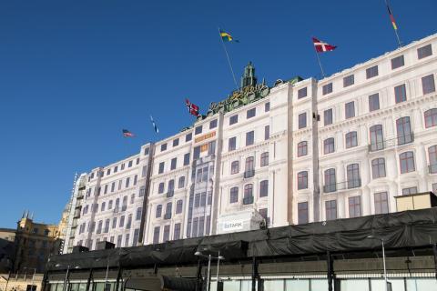Inklädnad av Grand Hôtel