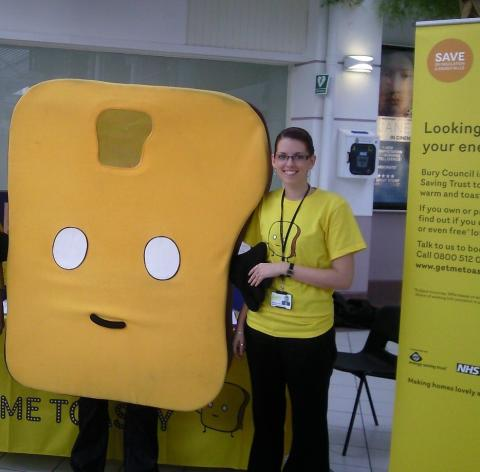 Get me Toasty - keeping you warm for free!