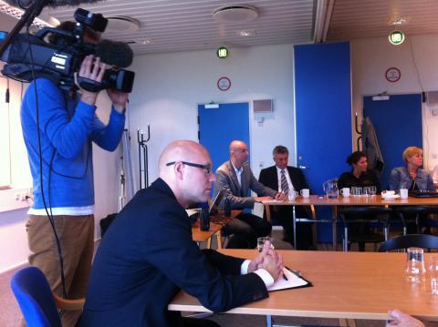 Konstruktivt dialogmøde i Karup Lufthavn