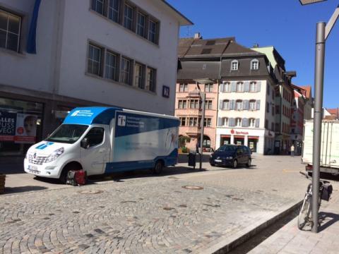 Beratungsmobil der Unabhängigen Patientenberatung kommt am 9. November nach Villingen-Schwenningen.