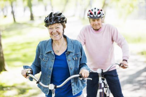 Bra balans minskar risken för fallolyckor