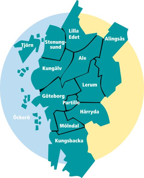 Göteborgsregionens kommunalförbunds styrelse sammanträder 12 februari i Alingsås