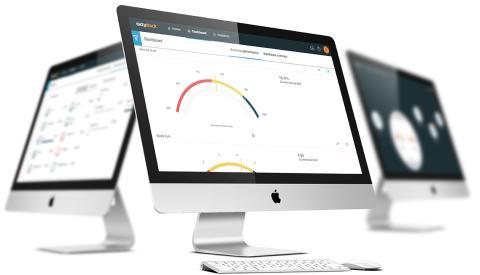 EazyStock screen on desktop