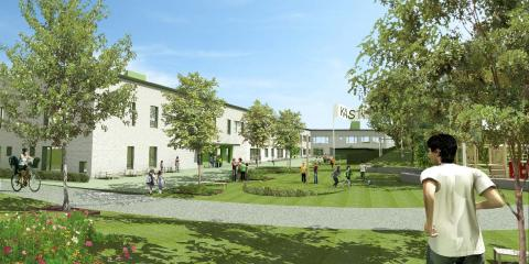Huge bygger Sveriges största miljömärkta passivhusskola