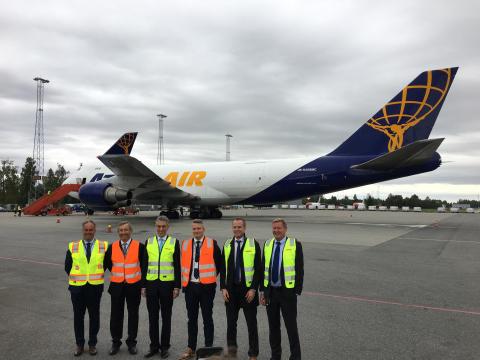 DHL åpner ny fraktflyrute fra Avinor Oslo lufthavn til Seoul og Shanghai