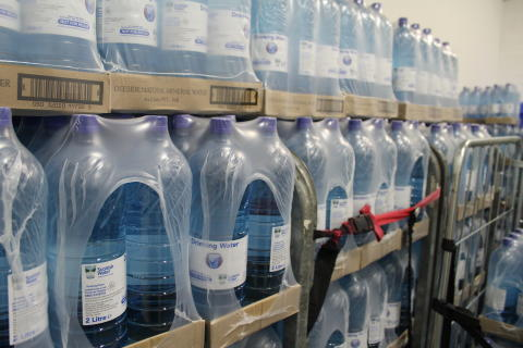 Free bottled water for residents with private supplies