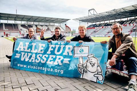 Ewald Lienen, Michael Fritz, Nico Rosberg, Bosse - ALLE FÜR WASSER