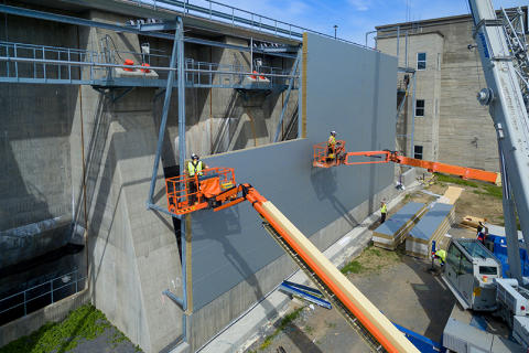 Livslengden på betongdemninger kan økes med opptil 100 år!