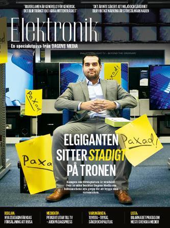 Dagens Media gör temanummer om marknadsföring i hemelektronikbranschen