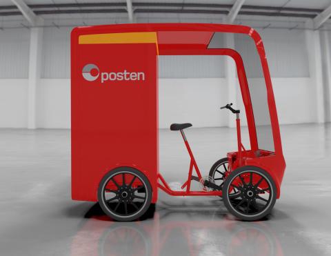 Posten kjøper ny type elvaresykler